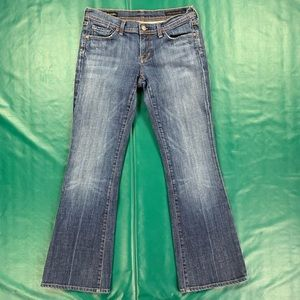 COH Jeans Low Rise Flare Size 29 x 30 Ingrid #002